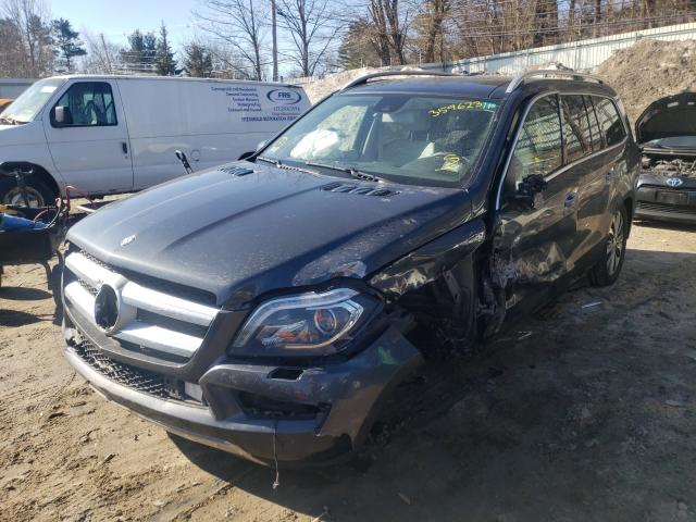 2015 MERCEDES-BENZ GL 450 4MA - Left Front View