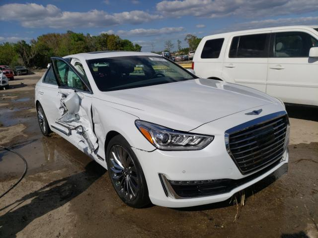 Genesis salvage cars for sale: 2018 Genesis G90 Premium