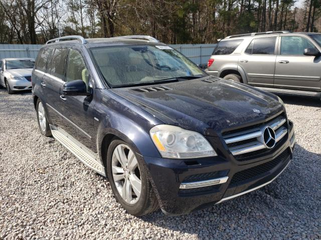 Salvage cars for sale from Copart Knightdale, NC: 2012 Mercedes-Benz GL 350 BLU