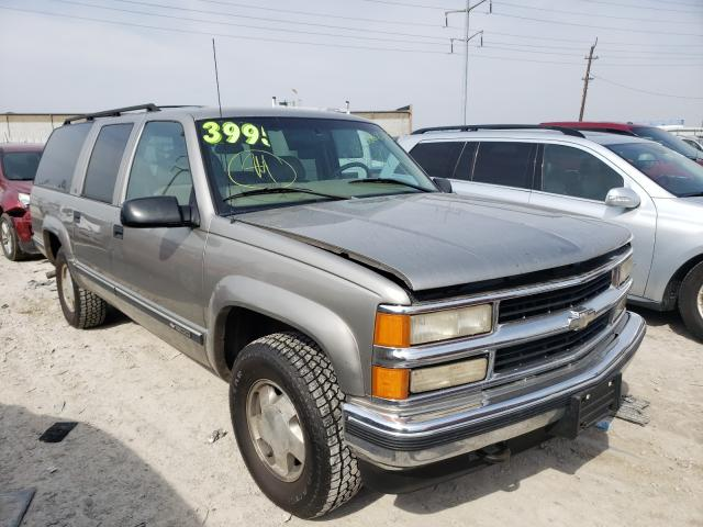 Chevrolet Suburban K salvage cars for sale: 1999 Chevrolet Suburban K