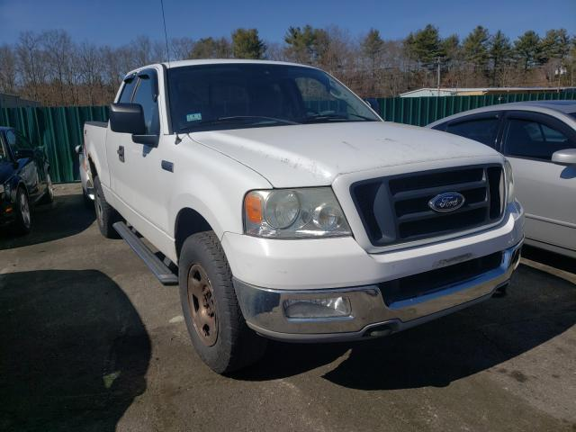 Salvage cars for sale from Copart Exeter, RI: 2005 Ford F150