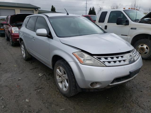 Salvage cars for sale from Copart Eugene, OR: 2007 Nissan Murano SL