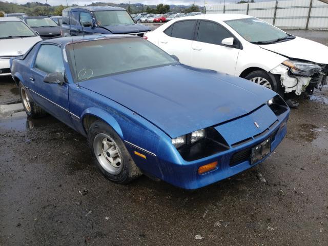 Chevrolet Camaro salvage cars for sale: 1987 Chevrolet Camaro