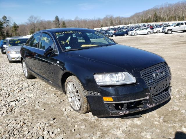 Salvage cars for sale from Copart West Warren, MA: 2006 Audi A6 3.2 Quattro