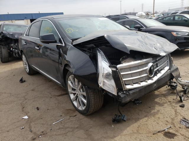 Salvage cars for sale from Copart Woodhaven, MI: 2015 Cadillac XTS Luxury
