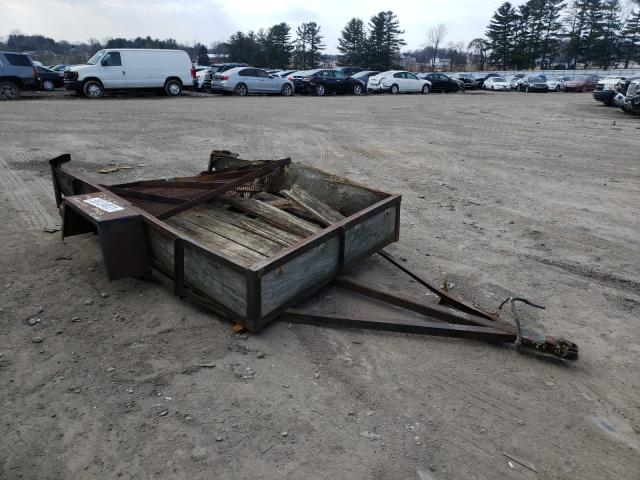 Homemade Trailer salvage cars for sale: 1993 Homemade Trailer
