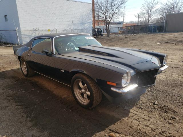 Chevrolet salvage cars for sale: 1973 Chevrolet Camaro