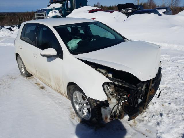 Salvage cars for sale from Copart Montreal Est, QC: 2011 Volkswagen Golf