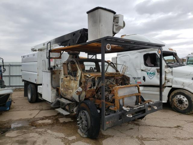 Salvage cars for sale from Copart Eldridge, IA: 2008 Ford F750 Super