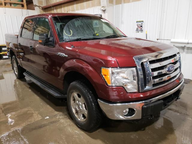 Salvage cars for sale from Copart Anchorage, AK: 2010 Ford F150 XLT