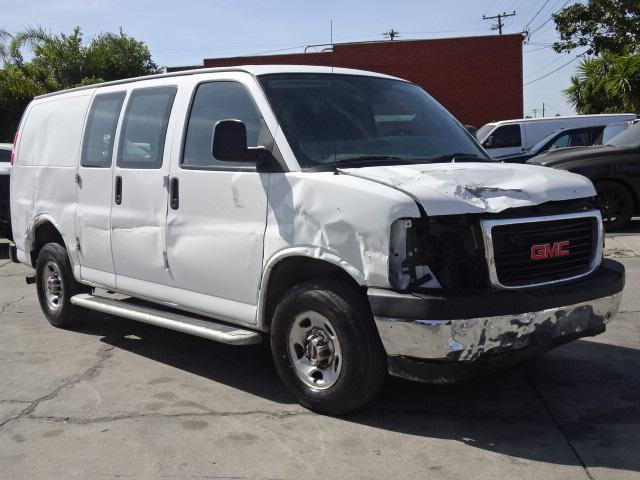 Salvage cars for sale from Copart Colton, CA: 2018 GMC Savana G25