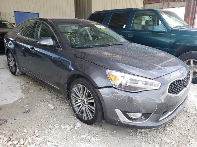 Salvage cars for sale from Copart Homestead, FL: 2014 KIA Cadenza PR