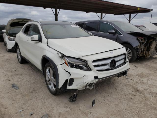 Salvage cars for sale from Copart Temple, TX: 2017 Mercedes-Benz GLA 250 4M