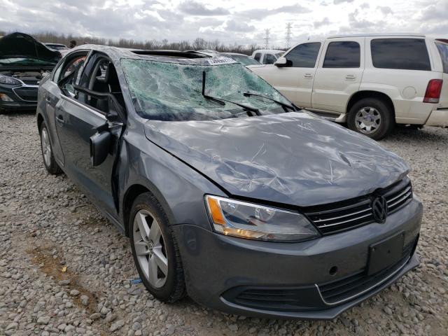 Volkswagen salvage cars for sale: 2014 Volkswagen Jetta TDI