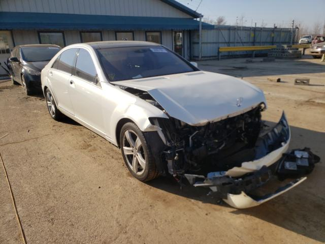 Salvage cars for sale from Copart Pekin, IL: 2011 Mercedes-Benz S 550 4matic