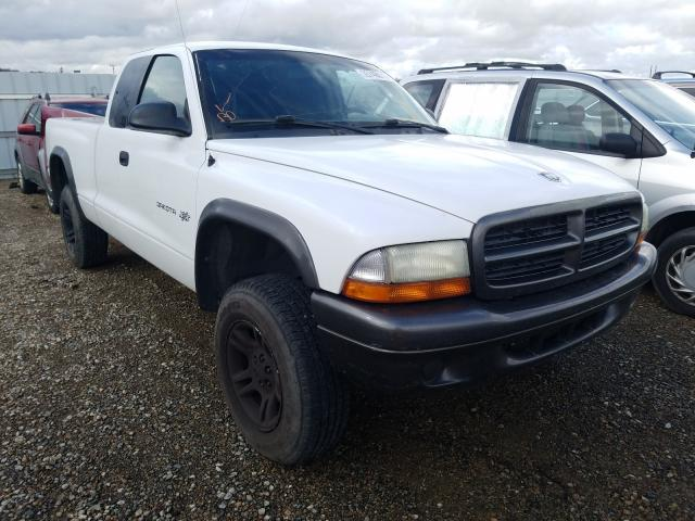 Salvage cars for sale from Copart Anderson, CA: 2002 Dodge Dakota Base