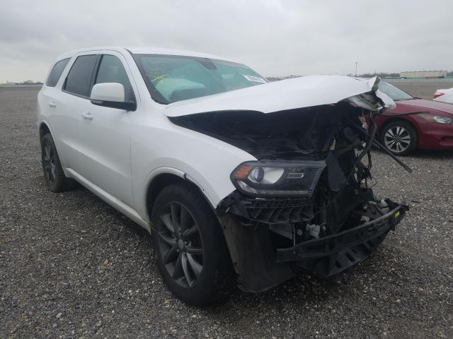 Salvage cars for sale from Copart Houston, TX: 2018 Dodge Durango GT
