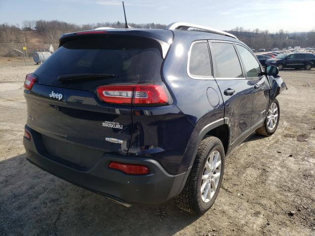 2016 JEEP CHEROKEE L - Right Rear View