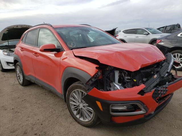 Hyundai salvage cars for sale: 2019 Hyundai Kona SEL