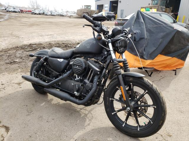 Salvage cars for sale from Copart Elgin, IL: 2016 Harley-Davidson XL883 Iron