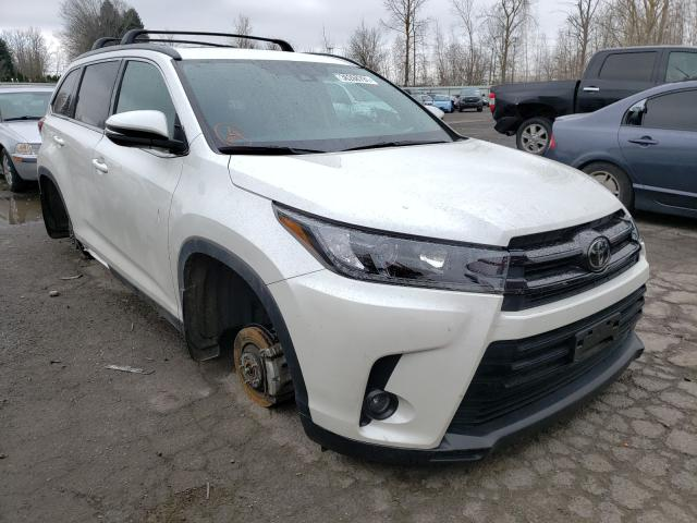 Salvage cars for sale from Copart Portland, OR: 2019 Toyota Highlander