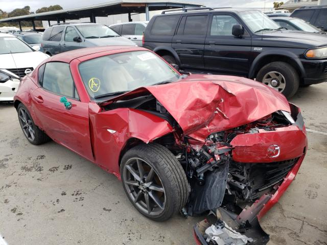 Mazda salvage cars for sale: 2017 Mazda MX-5 Miata