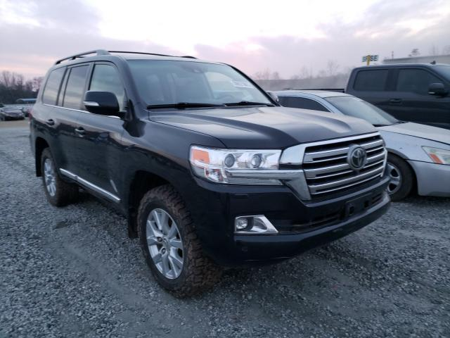 Salvage cars for sale from Copart Spartanburg, SC: 2016 Toyota Land Cruiser