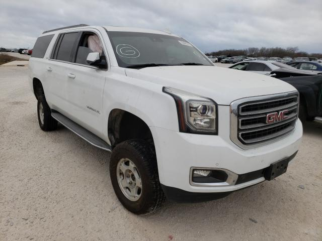 Salvage cars for sale from Copart San Antonio, TX: 2016 GMC Yukon XL K