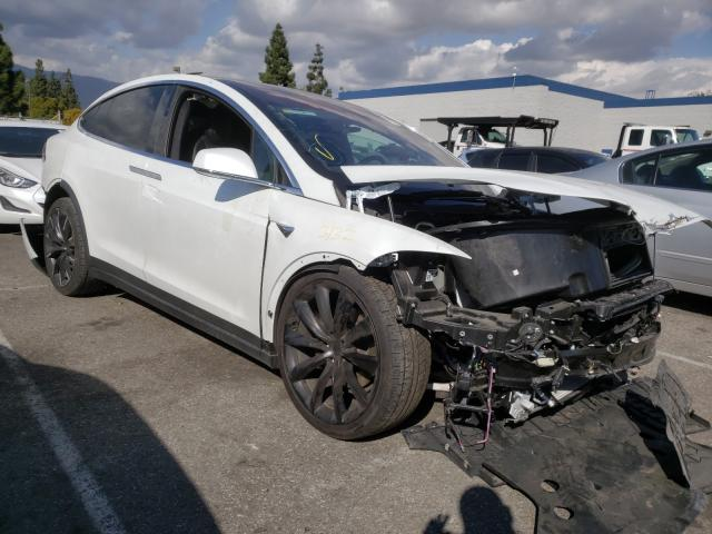 Salvage cars for sale from Copart Rancho Cucamonga, CA: 2020 Tesla Model X
