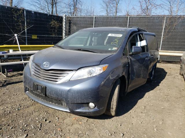 2017 TOYOTA SIENNA XLE - Left Front View