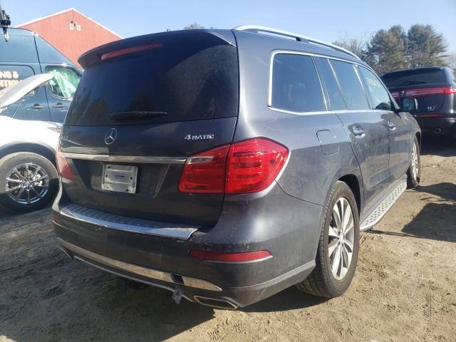 2015 MERCEDES-BENZ GL 450 4MA - Right Rear View