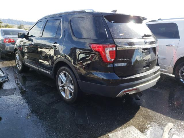 2017 FORD EXPLORER L - Right Front View