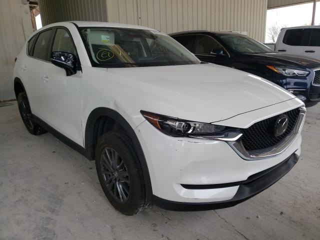 Salvage cars for sale from Copart Homestead, FL: 2020 Mazda CX-5 Touring