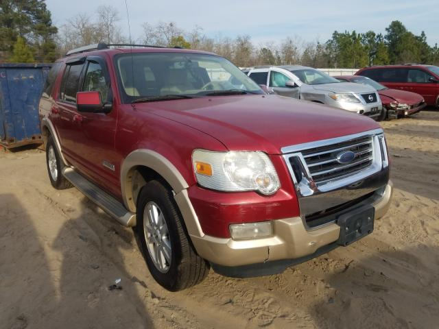 Salvage cars for sale from Copart Gaston, SC: 2007 Ford Explorer E