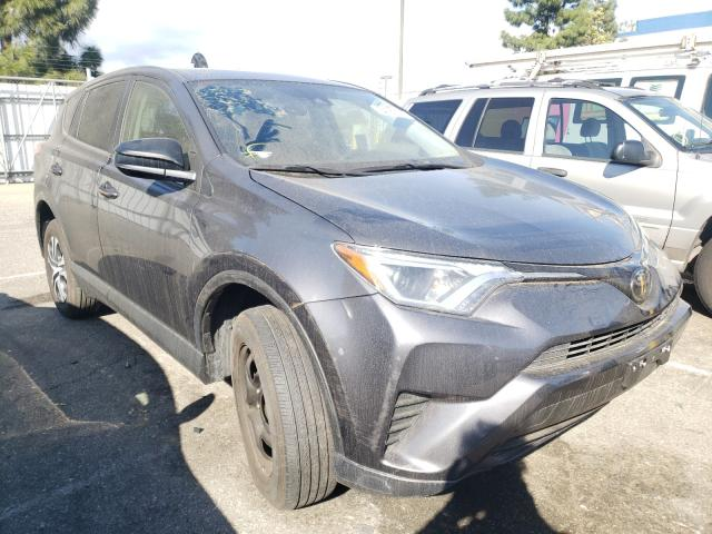 Salvage cars for sale from Copart Rancho Cucamonga, CA: 2018 Toyota Rav4 LE