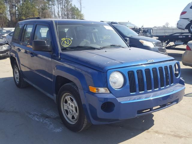 2010 JEEP PATRIOT SP 1J4NF2GB5AD591485