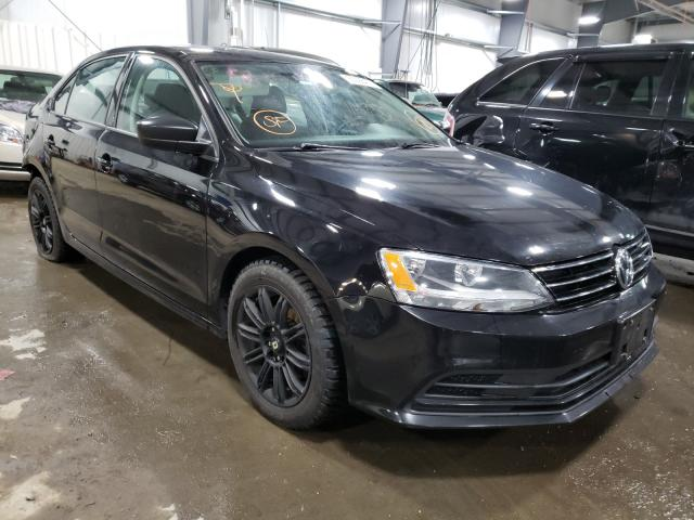 Salvage cars for sale from Copart Ham Lake, MN: 2015 Volkswagen Jetta TDI
