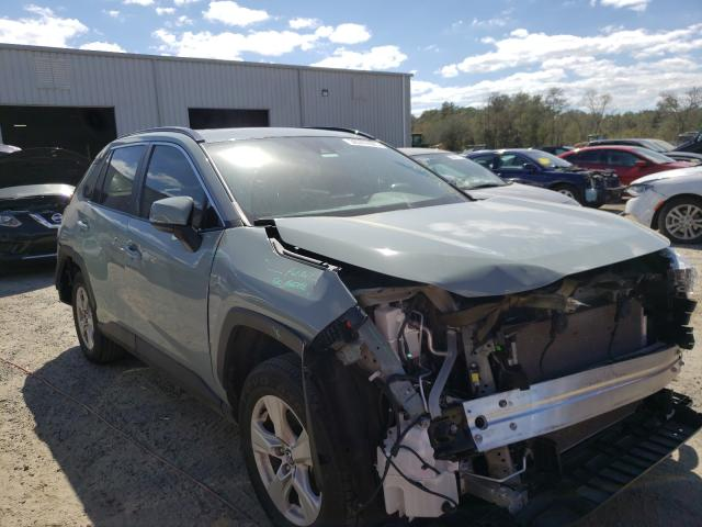 Salvage cars for sale from Copart Jacksonville, FL: 2020 Toyota Rav4 XLE