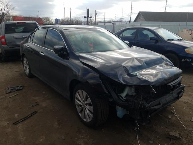 Salvage cars for sale from Copart Hammond, IN: 2013 Honda Accord EXL