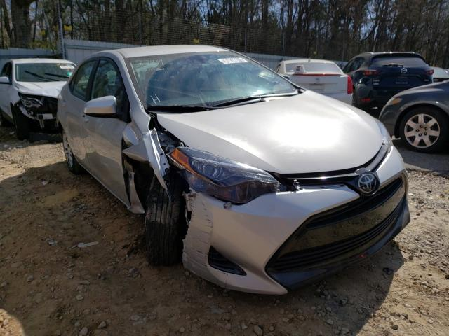 Salvage cars for sale from Copart Austell, GA: 2018 Toyota Corolla L