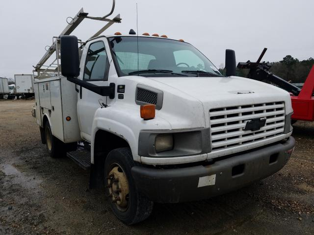 Salvage cars for sale from Copart Greenwell Springs, LA: 2007 Chevrolet C4500 C4C0