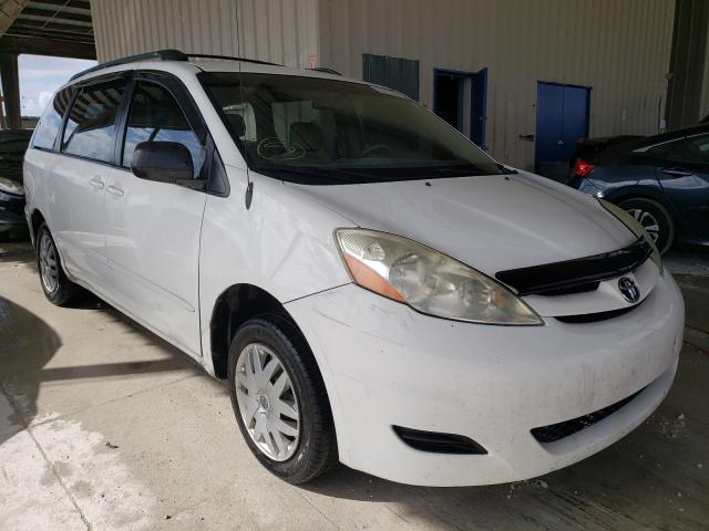 Salvage cars for sale from Copart Homestead, FL: 2008 Toyota Sienna CE