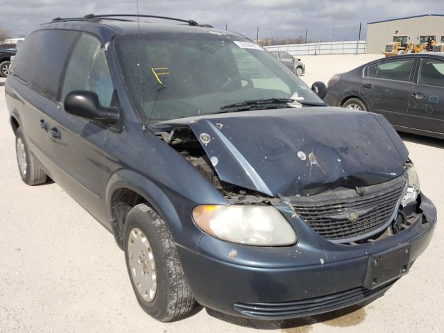 Salvage cars for sale from Copart San Antonio, TX: 2002 Chrysler Town & Country