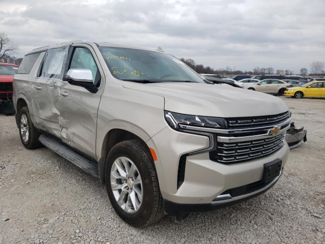 Chevrolet Suburban K salvage cars for sale: 2021 Chevrolet Suburban K