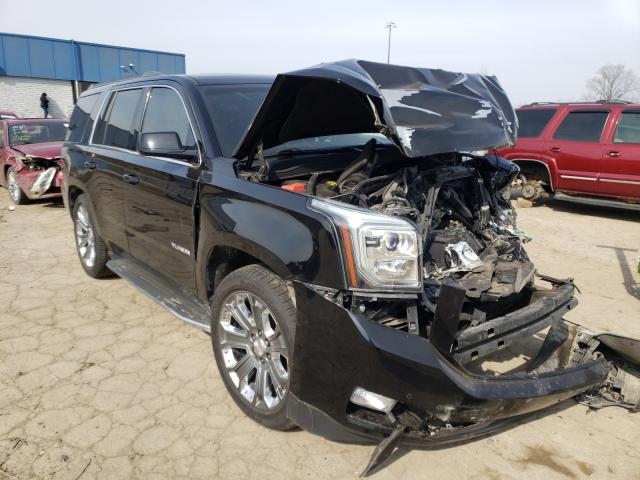 Salvage cars for sale from Copart Woodhaven, MI: 2016 GMC Yukon SLT