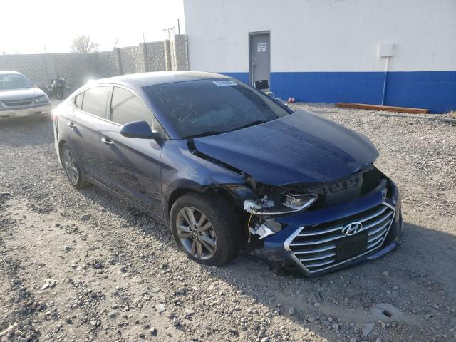 Salvage cars for sale from Copart Farr West, UT: 2018 Hyundai Elantra SE