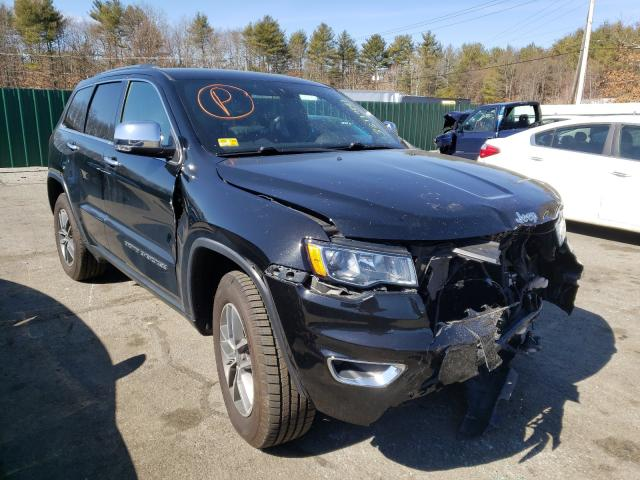 Salvage cars for sale from Copart Exeter, RI: 2019 Jeep Grand Cherokee