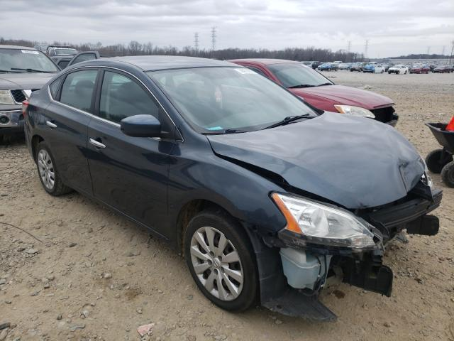 Salvage cars for sale from Copart Memphis, TN: 2013 Nissan Sentra S