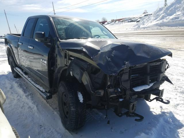 Salvage cars for sale from Copart Montreal Est, QC: 2014 Dodge RAM 1500 SLT