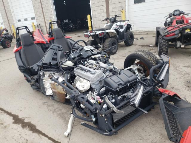 Salvage cars for sale from Copart Woodhaven, MI: 2020 Polaris Slingshot